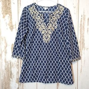 Charter Club tunic top